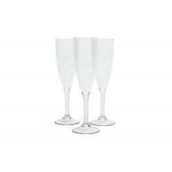 Champagneglas plast Viskan