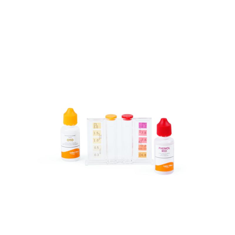 Testset Klor & pH Droppar