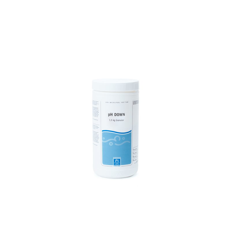 SpaCare pH Down Granular 1,5 kg